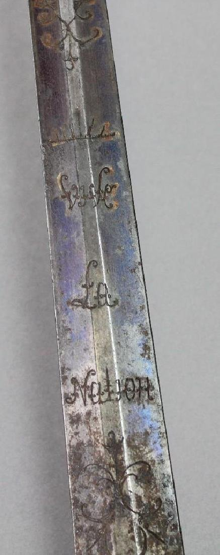 Late 18th Century French Sword - 8
