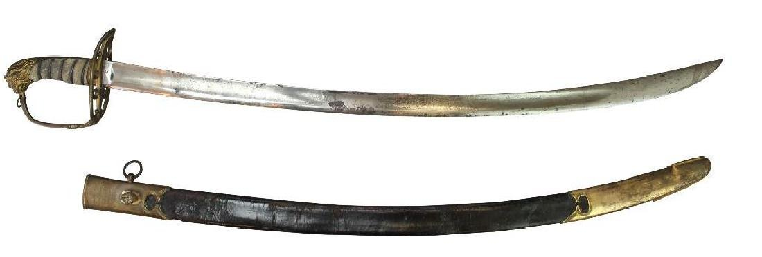 Identified British Napoleonic Period Sword