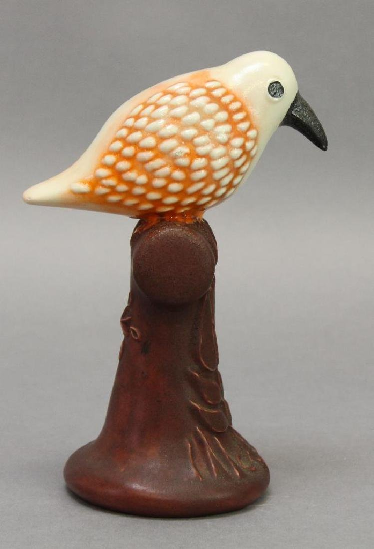 James C. Seagreaves Pottery Bird - 3