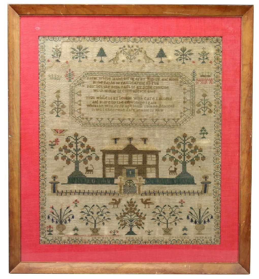 1839 Child's Sampler