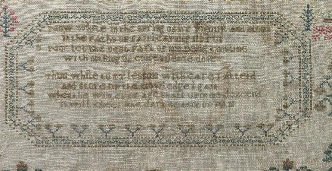 1839 Child's Sampler - 3