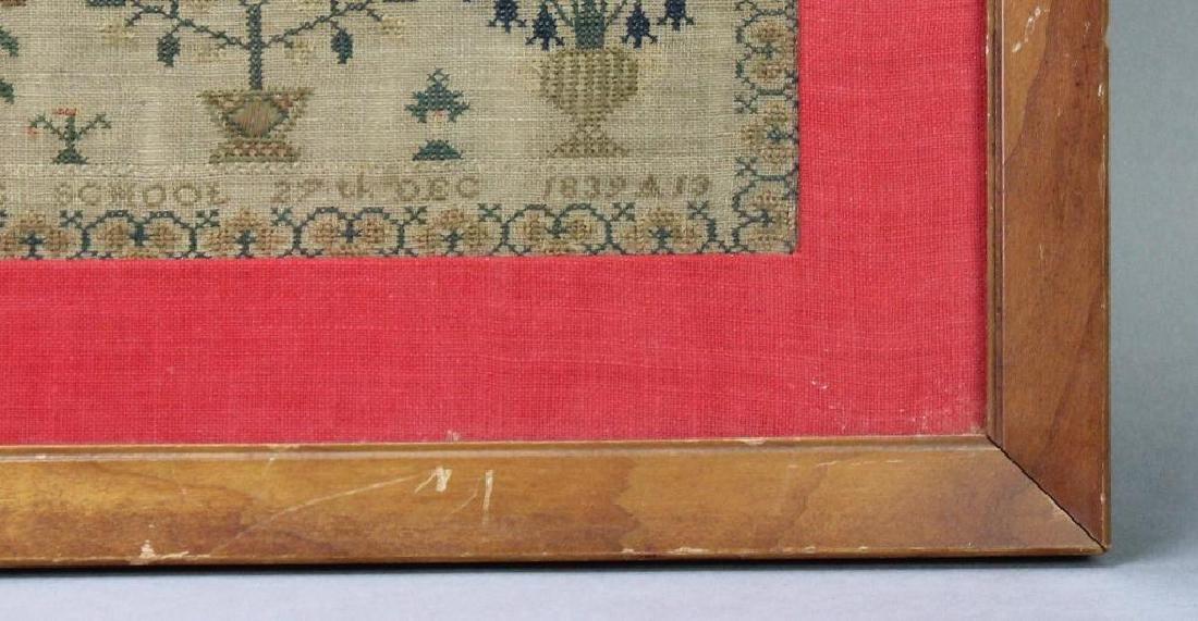 1839 Child's Sampler - 4