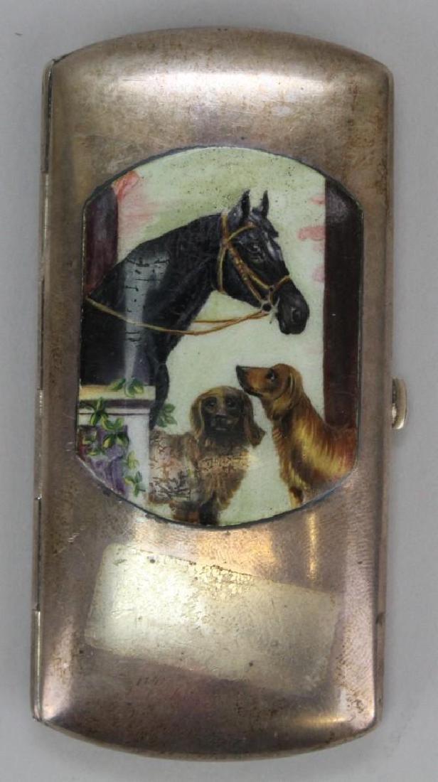 Enameled Cigarette Case - 3