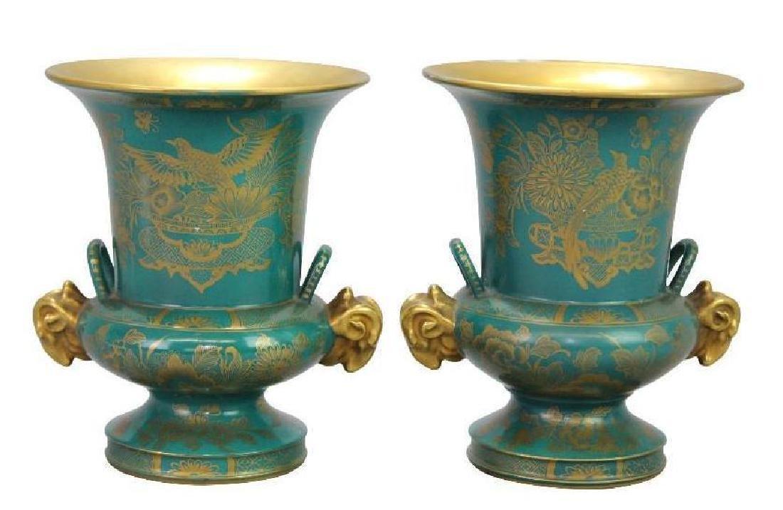 Old Paris Vase Grouping