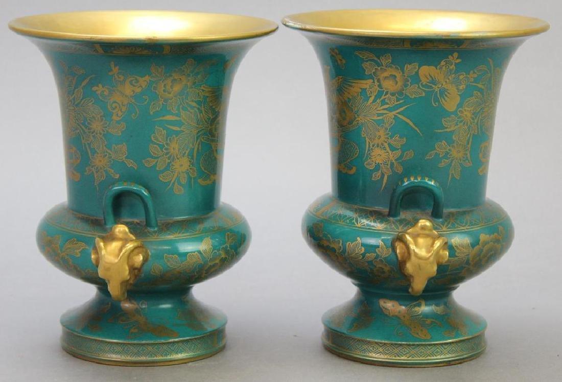 Old Paris Vase Grouping - 2