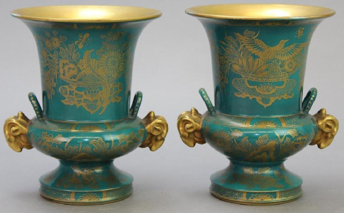 Old Paris Vase Grouping - 3