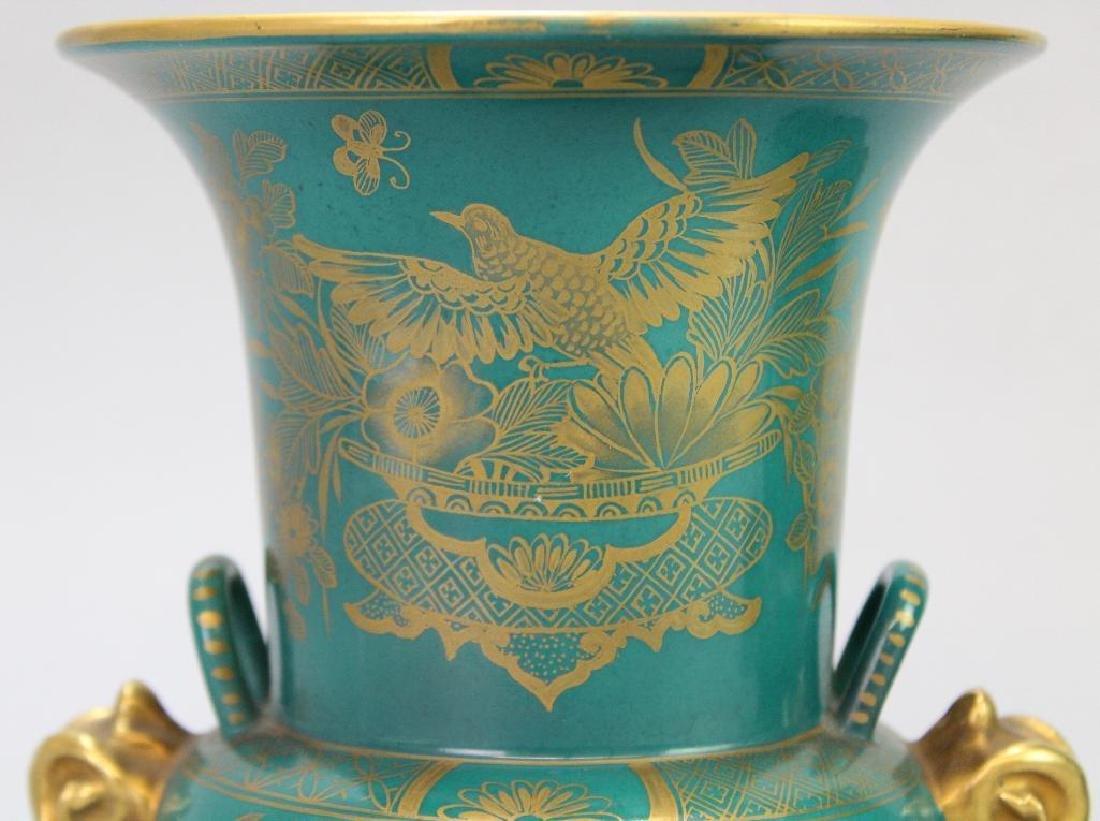 Old Paris Vase Grouping - 5