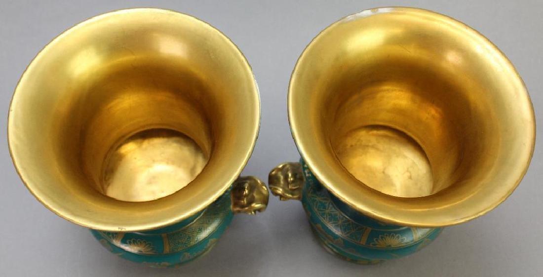 Old Paris Vase Grouping - 6