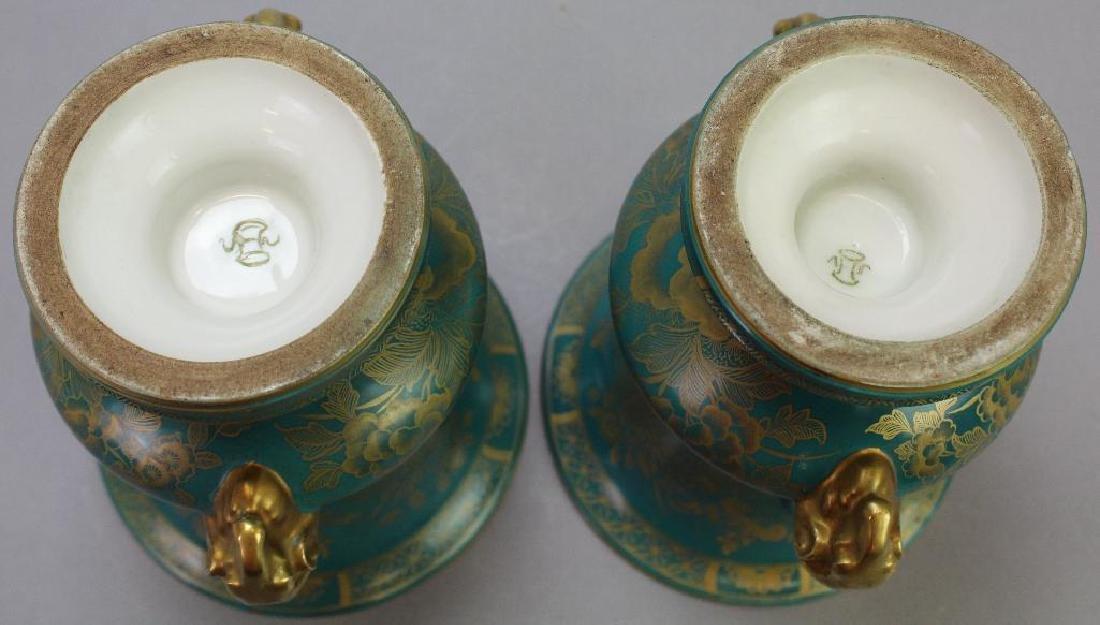 Old Paris Vase Grouping - 8
