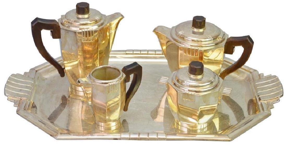 French Art Deco Tea Service
