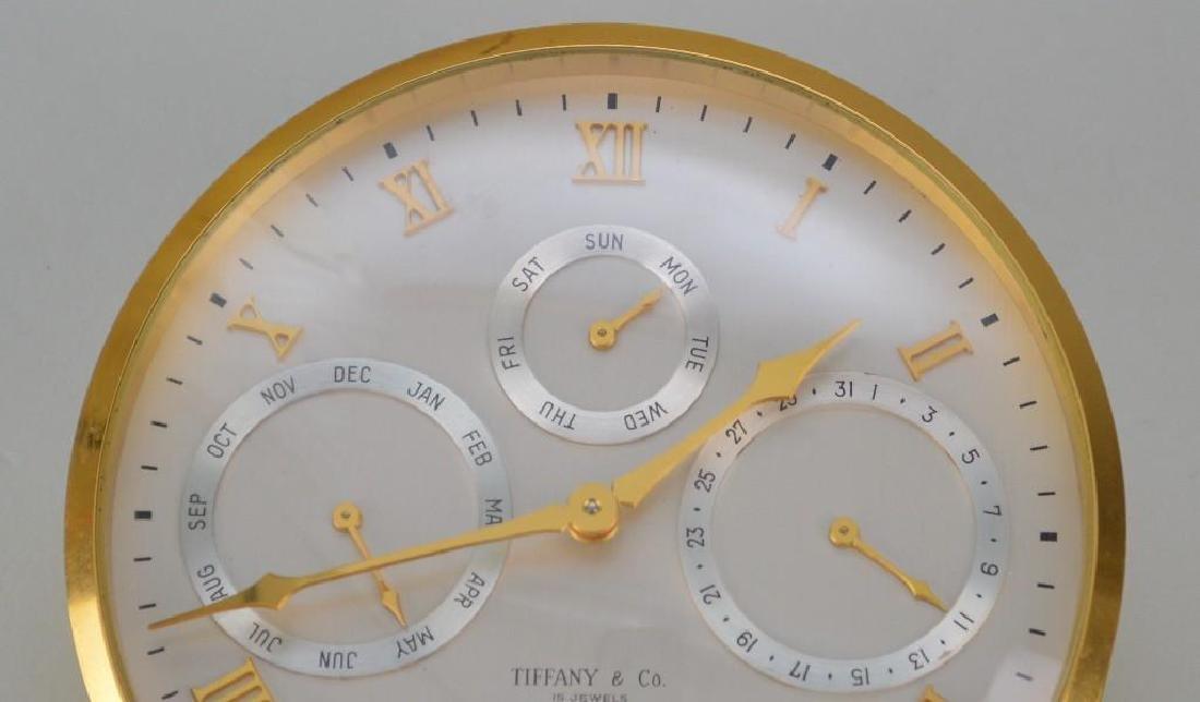 Tiffany and Co. Desk Clock - 4