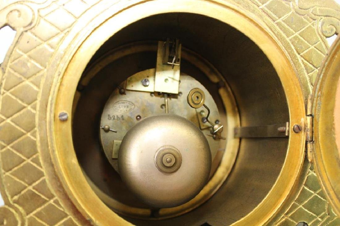 L'Charvet Aine' & Cie French Mantle Clock - 10