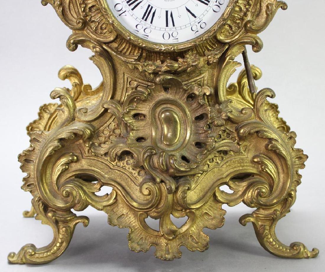 L'Charvet Aine' & Cie French Mantle Clock - 3