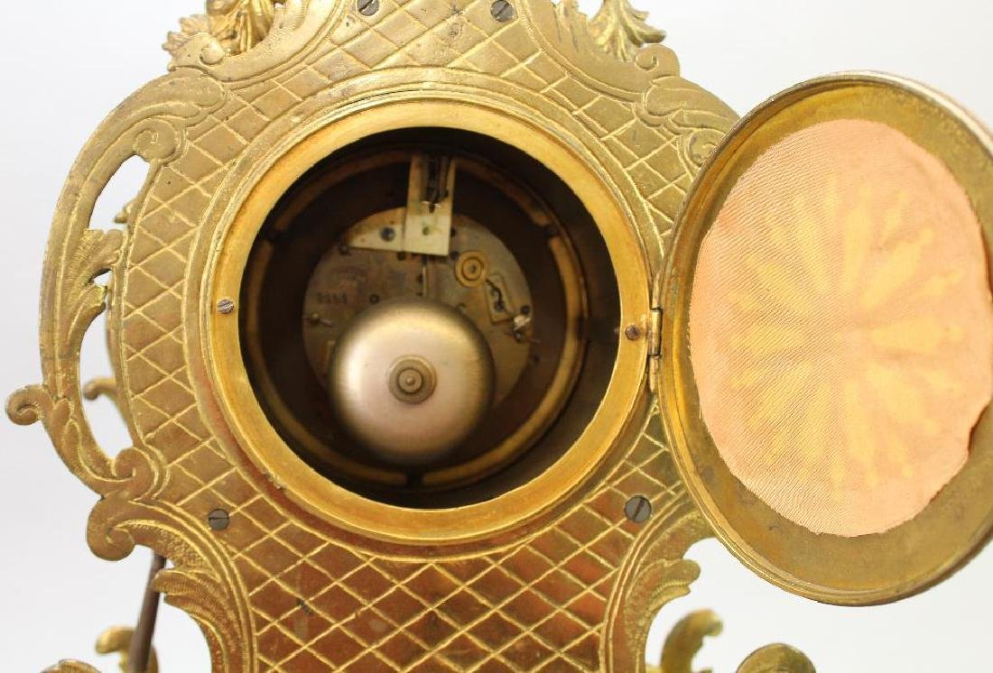 L'Charvet Aine' & Cie French Mantle Clock - 9