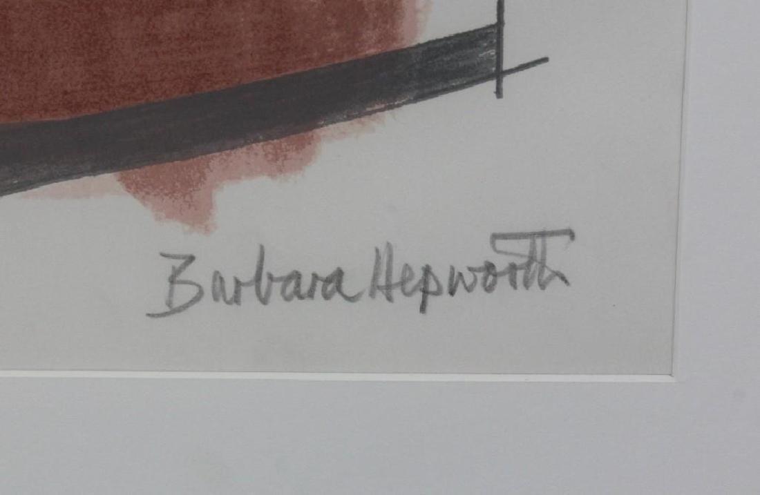 "Barbara Hepworth (1903-1975, England) ""Rangatira II"" - 3"