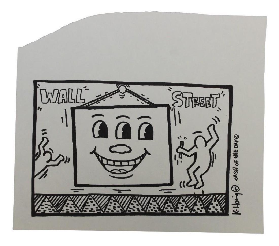 Keith Haring (NY, PA 1958 - 1990)