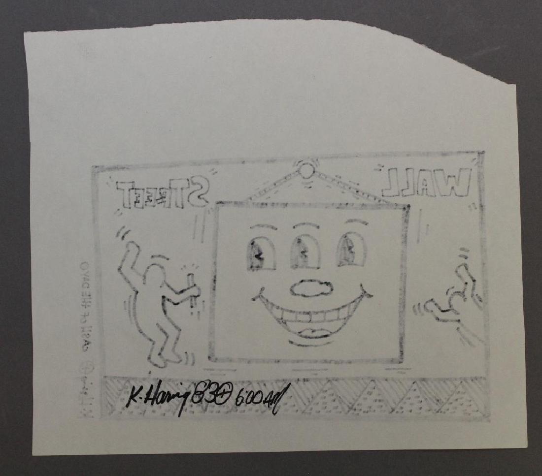 Keith Haring (NY, PA 1958 - 1990) - 3