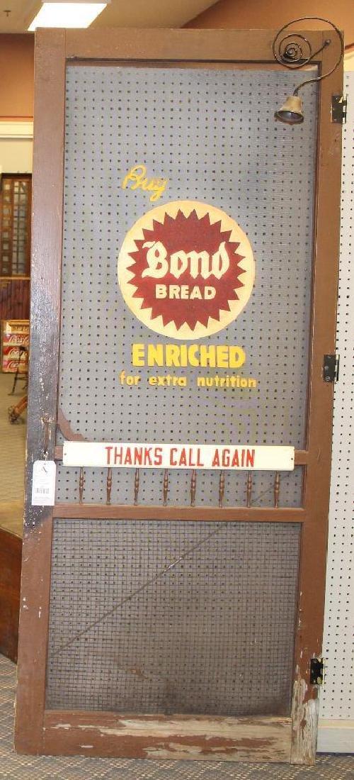 Bond Bread Screen Door