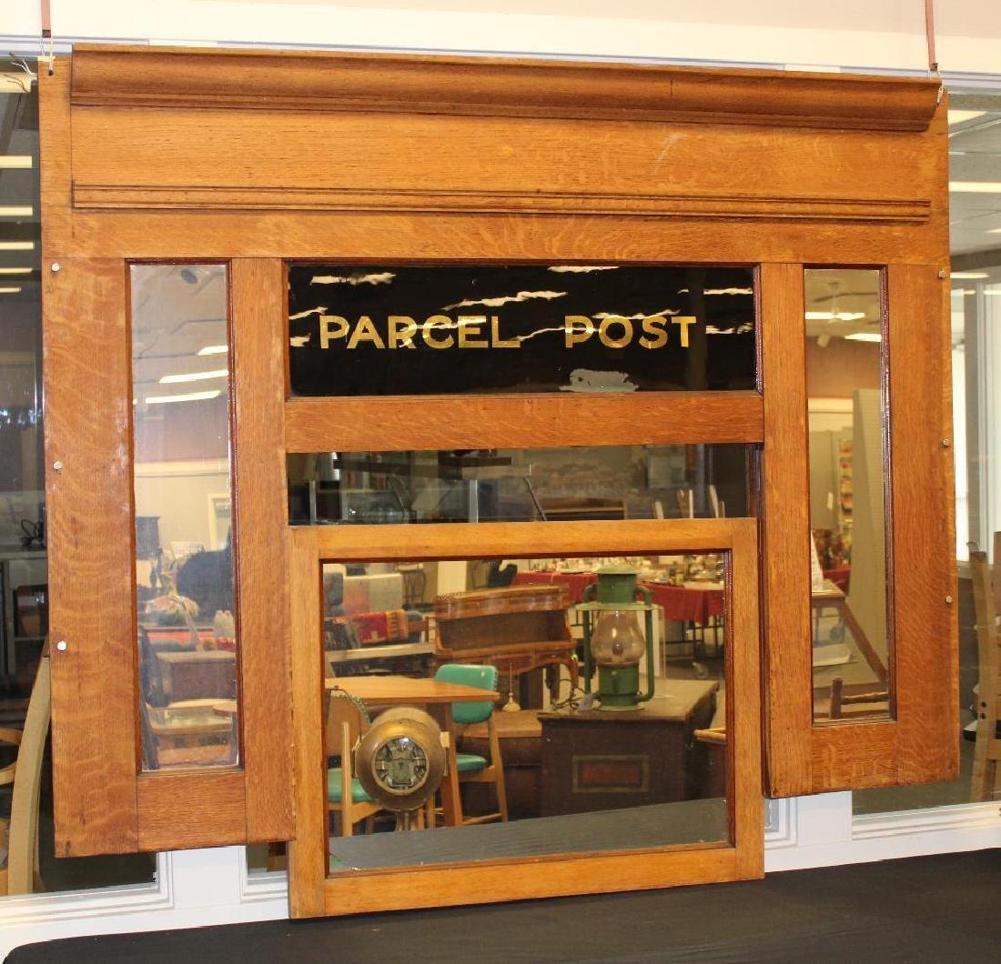 Parcel Post Window