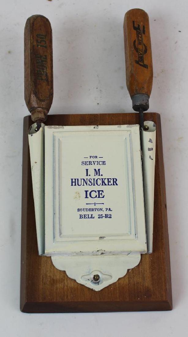 I. M. Hunsicker Ice Pick Holder