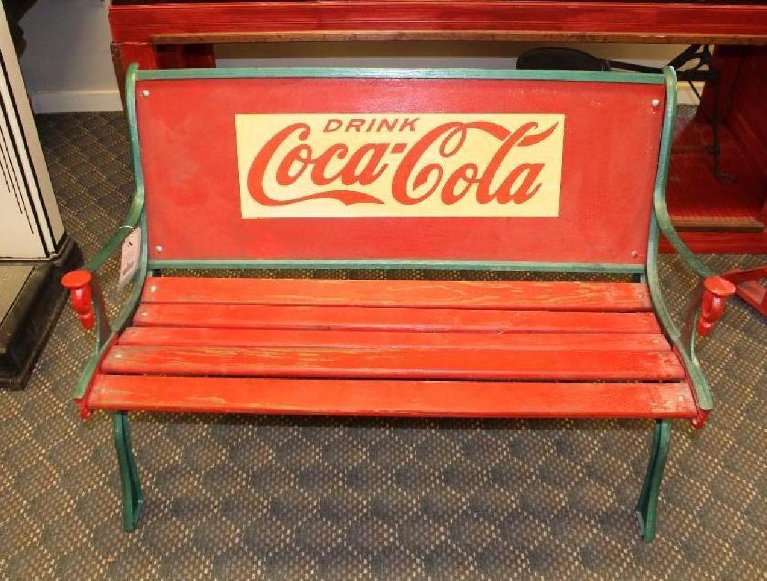 Coca-Cola Garden Bench