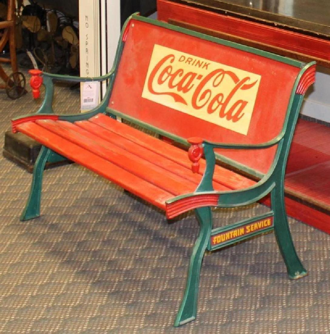 Coca-Cola Garden Bench - 2