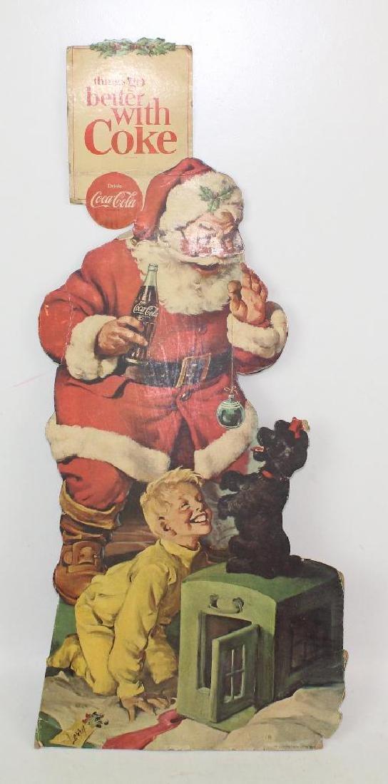 Dye Cut Christmas Coke Sign