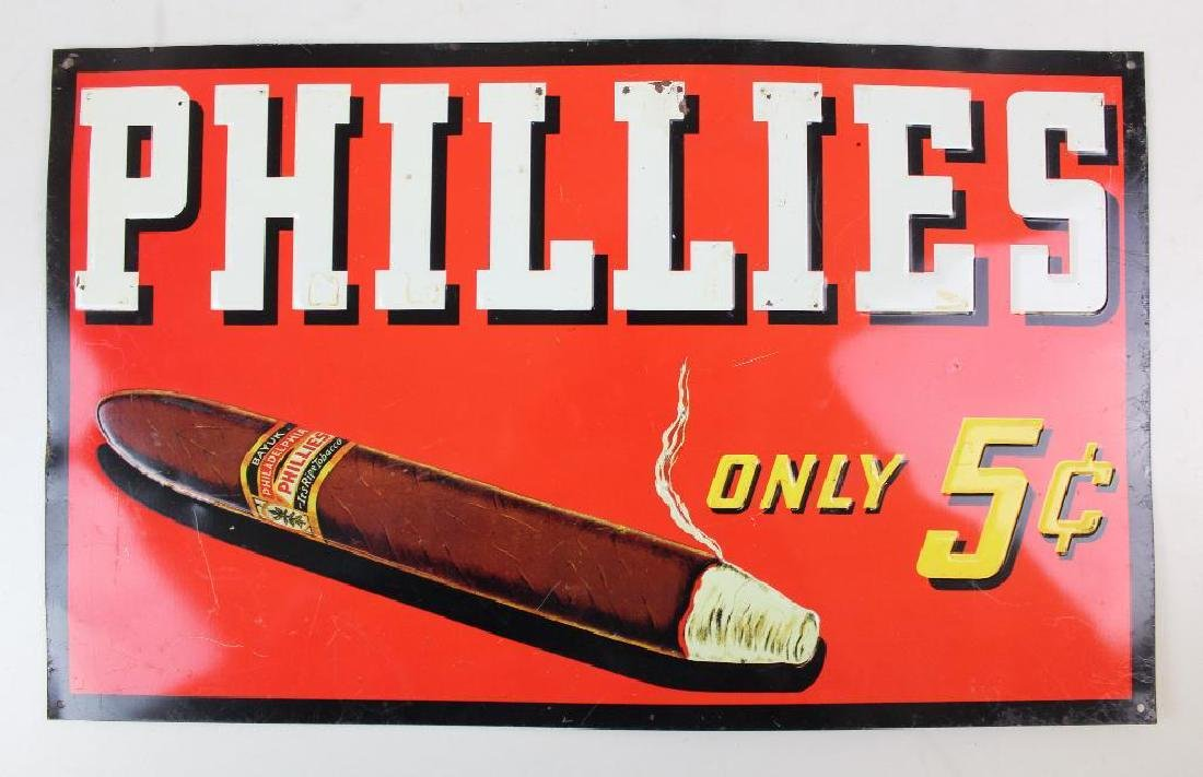 Phillies and Frings Cigar Advertising Tins - 2