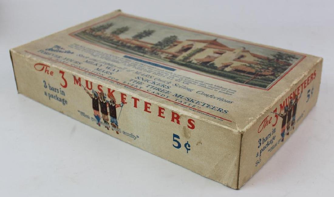 Three Musketeers Candy Box