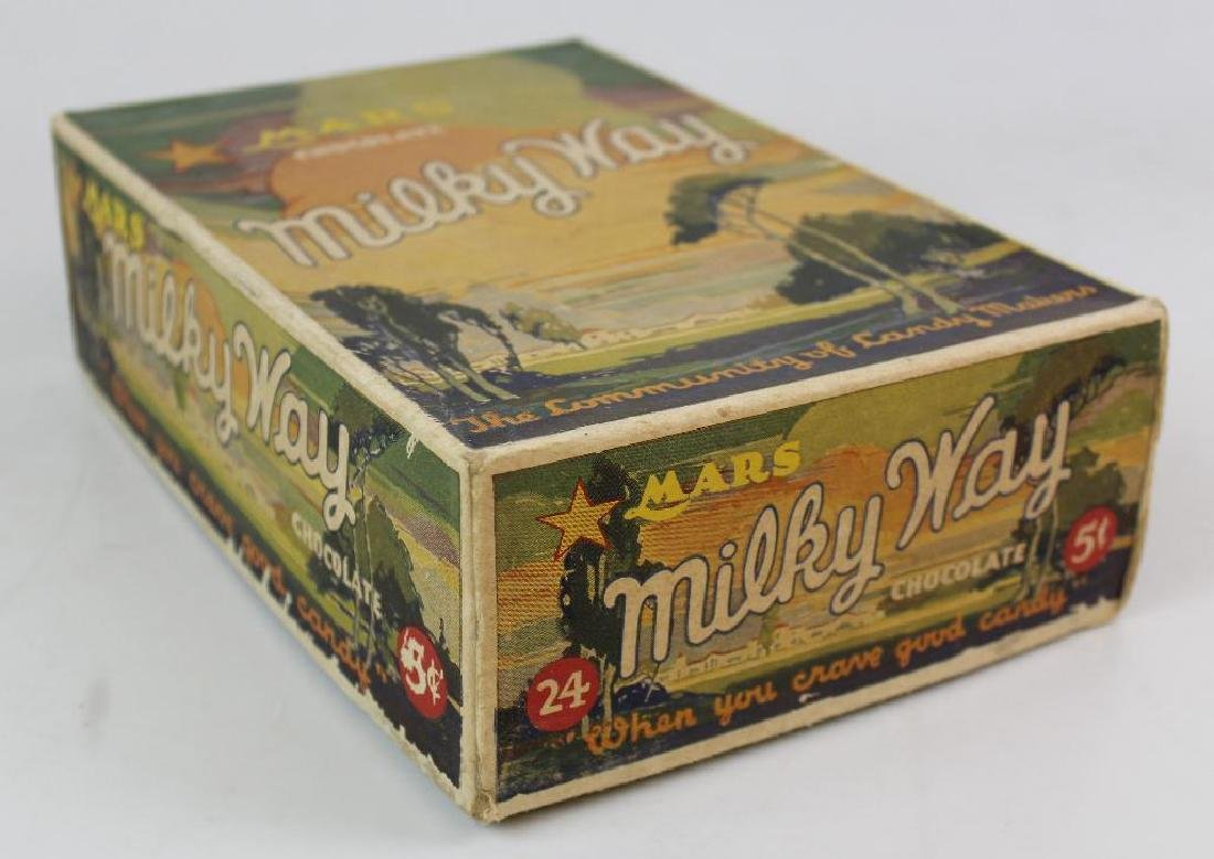 Mars Milky Way Cardboard Box