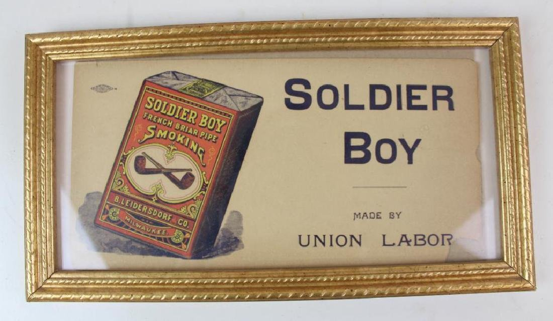 Soldier Boy and Prince Albert Advertising - 2