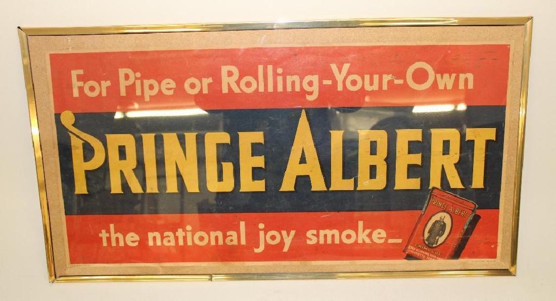 Prince Albert Advertising