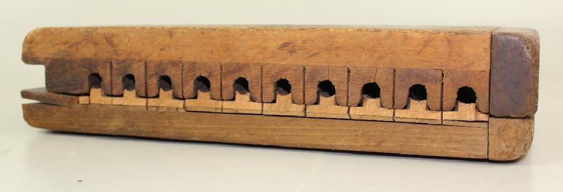 Wood Cigar Mold