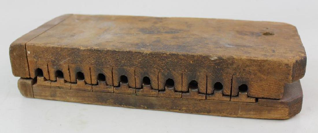 Wood Cigar Mold - 2