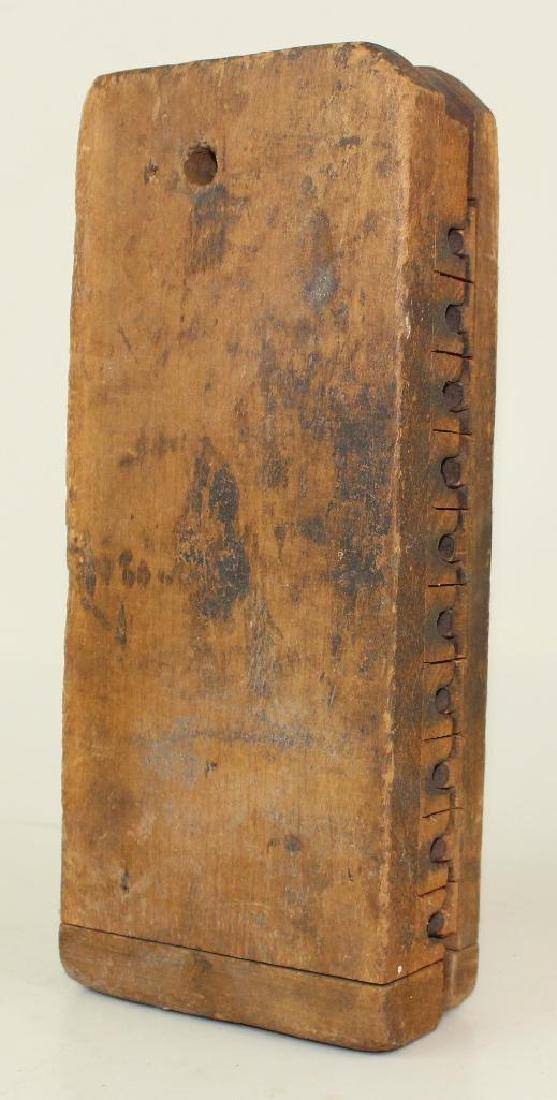 Wood Cigar Mold - 3