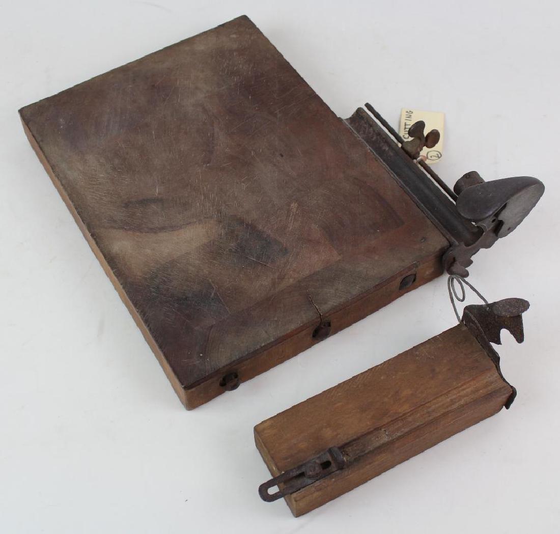Two Cigar Cutting Boards