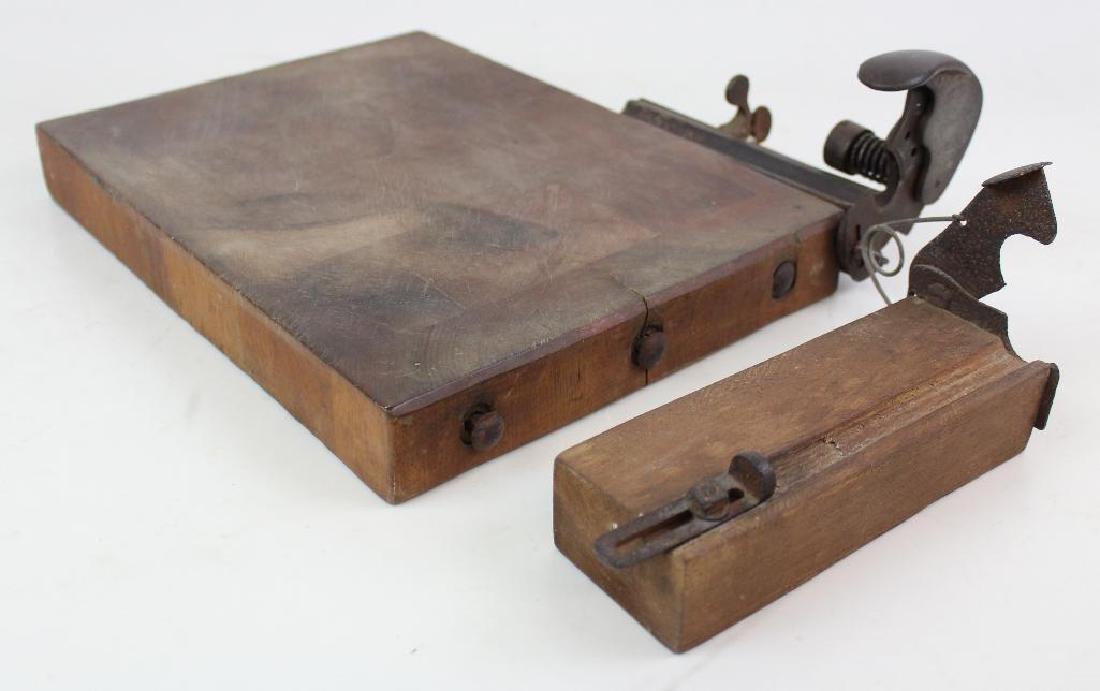 Two Cigar Cutting Boards - 2