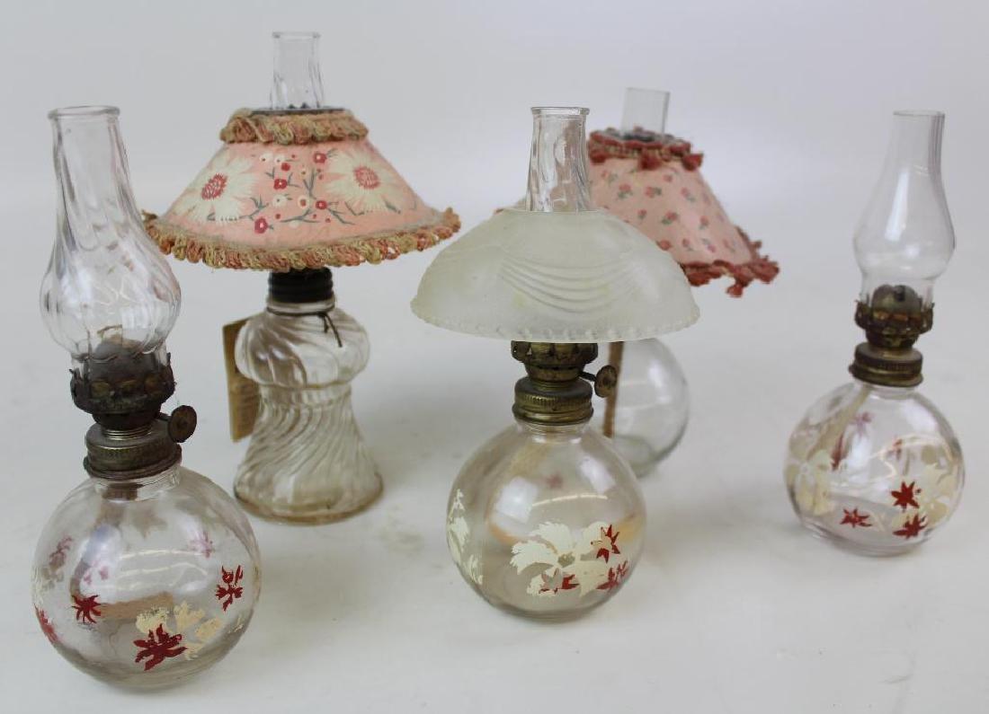 Five Oil Lamps - 2