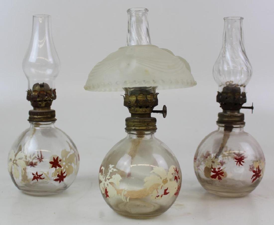 Five Oil Lamps - 4
