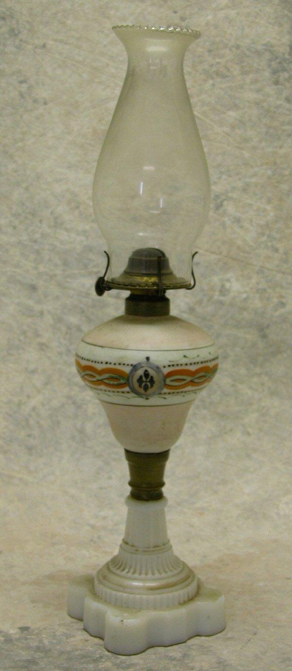 419: Victorian Oil Lamp.