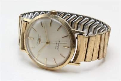 Gents Longines ADMIRAL AUTOMATIC Wrist Watch. 14K