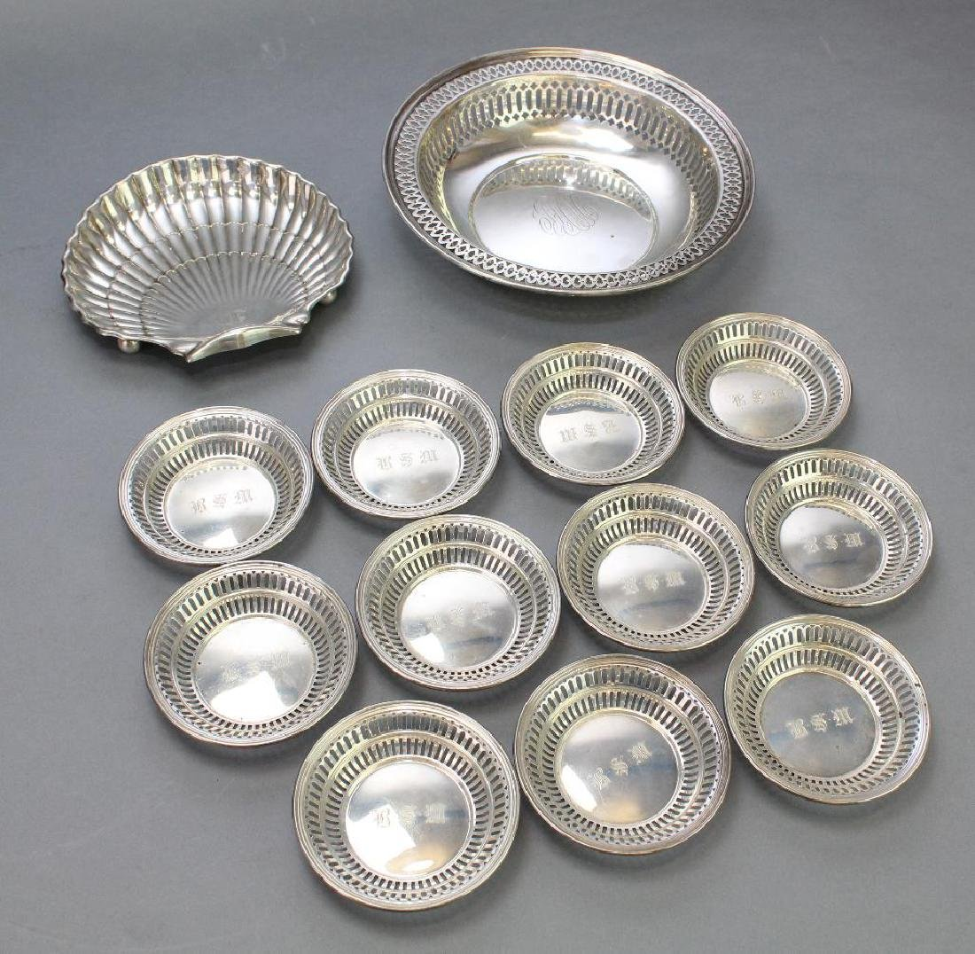 Sterling Silver Tableware Grouping