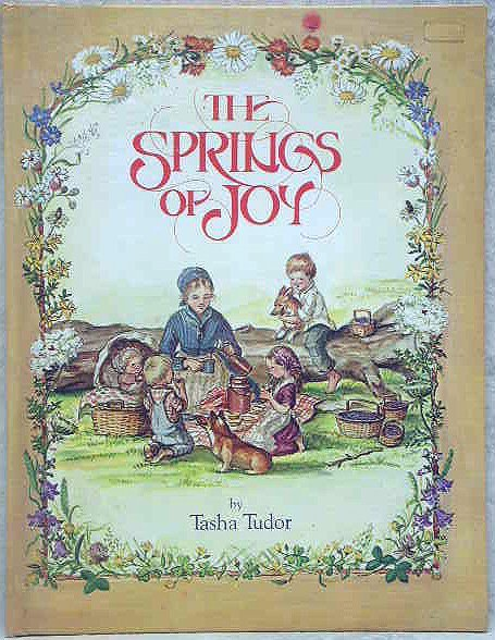 1005: Tasha Tudor Autographed Book.