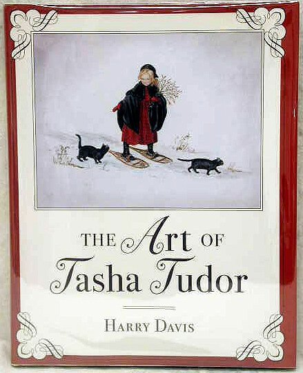 1011: Tasha Tudor Autographed Book.