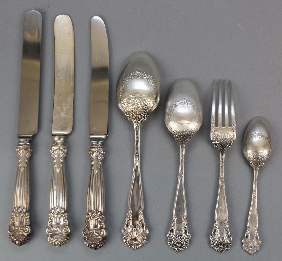 "Towle Sterling Silver ""Georgian"" 27 Pc. Flatware - 2"