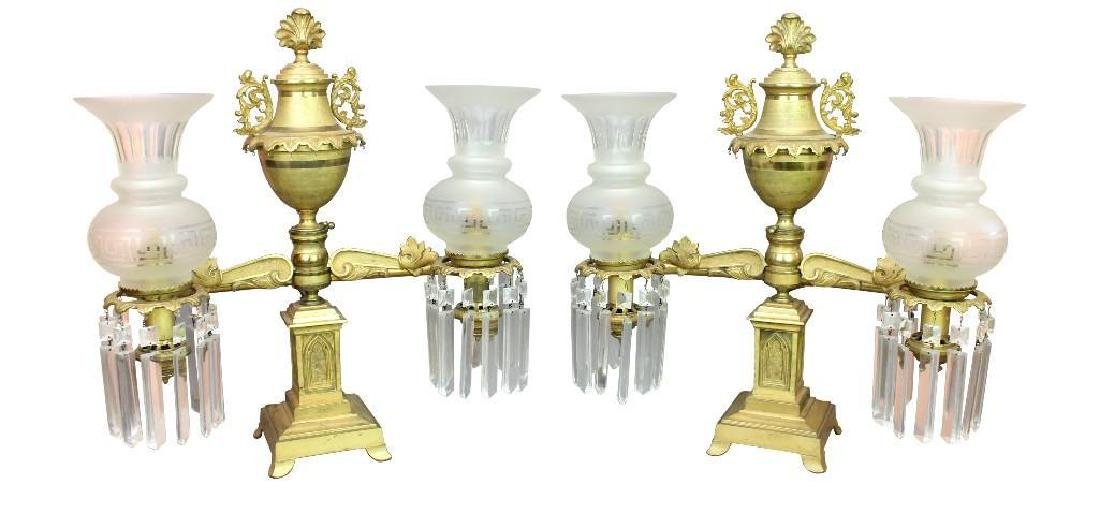 Pr. Cornelius and Co. Argand Lamps