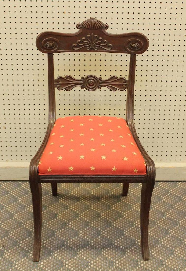 Pair of Mahogany Side Chairs - 3