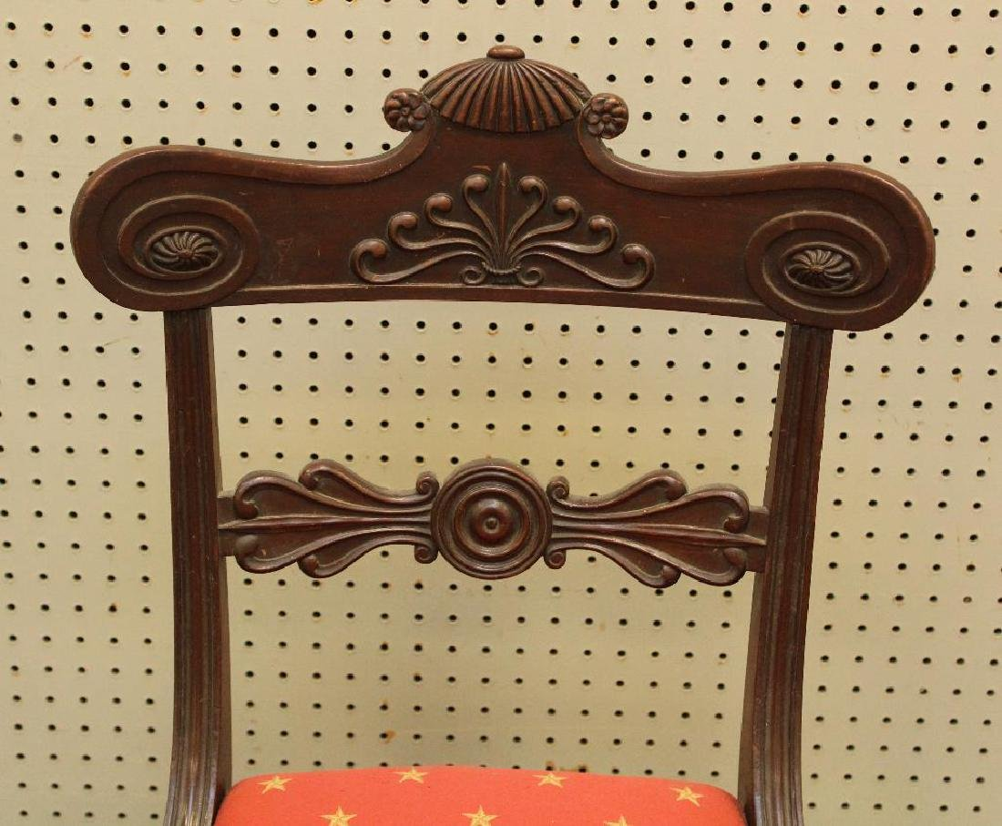 Pair of Mahogany Side Chairs - 4