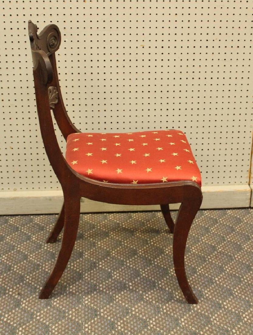 Pair of Mahogany Side Chairs - 7