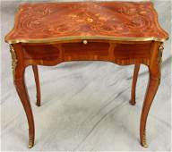 Louis XV Style Ormolu Mounted Writing Table